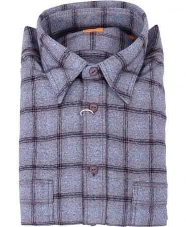 Hugo Boss Grey Check Soft Finish CalifoE 2 Shirt