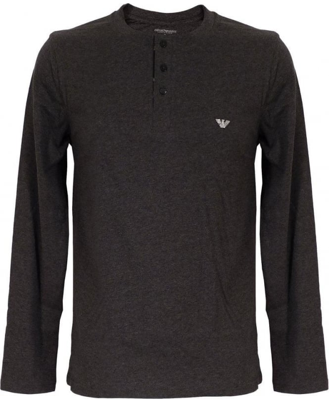Armani Grey Check Top & Bottom Pyjama Set