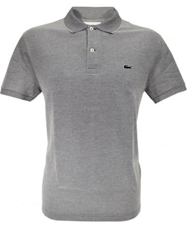 Lacoste Grey Classic Fit Polo Shirt