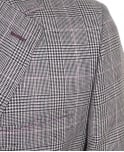 Holland Esquire Grey Classic Prince of Wales Check Jacket