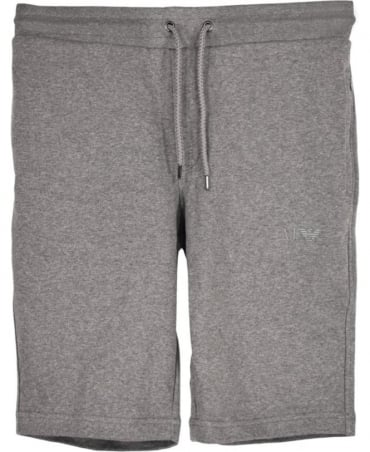 Armani Jeans Grey Cotton Drawstring Shorts