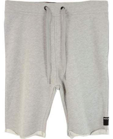 Grey Cotton Replay Shorts