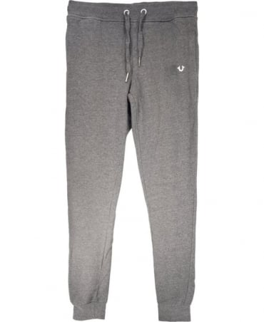 True Religion Grey Cotton Tracksuit Bottoms