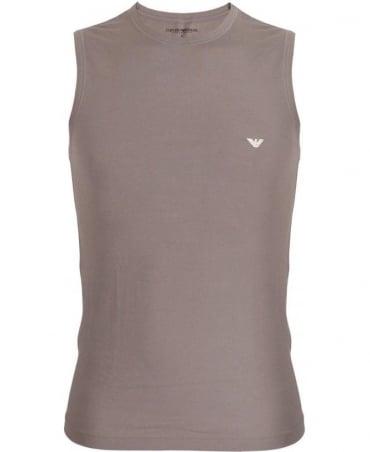Emporio Armani  Grey Cotton Vest