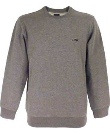 Armani Grey Crew Neck 06M28RN Sweatshirt