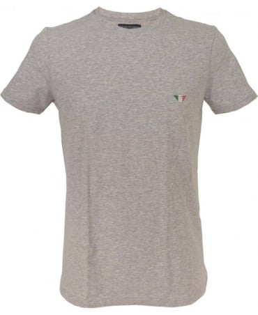 Armani Grey Crew Neck 110853 Underwear T/Shirt