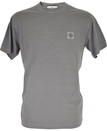 Grey Crew Neck 21142 T-Shirt