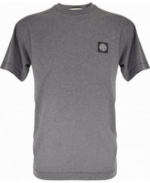 Stone Island Grey Crew Neck 24141 T-Shirt