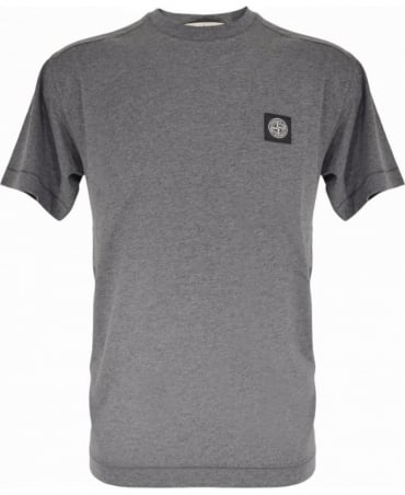Stone Island Grey Crew Neck 24141 T-Shirt