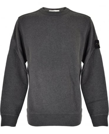 Stone Island Grey Crew Neck 62720 Sweatshirt