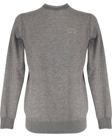 Armani Grey Crew Neck 8N6M19 6JQDZ Sweatshirt