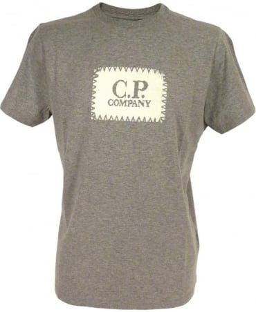 CP Company Grey Crew Neck H02110 T/Shirt