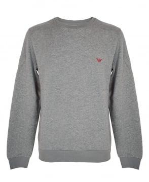 Emporio Armani  Grey Crew Neck Sweatshirt