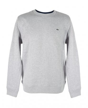 Lacoste Grey Crew Neck Sweatshirt