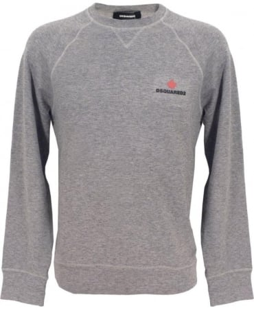 Dsquared2 Grey D9MG10810.20014 Round Neck Sweatershirt