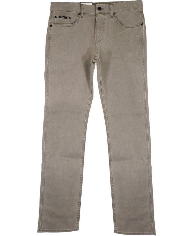 Hugo Boss Grey Delaware Slim Fit Jeans