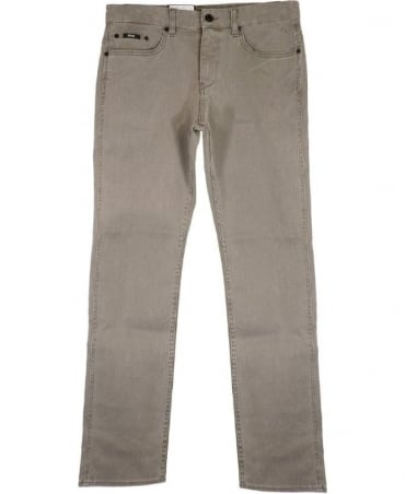 Hugo Boss Grey Delaware Slim Fit Jeans