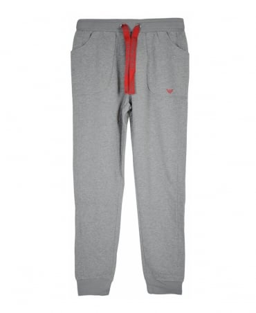 Grey Drawstring Tracksuit Bottoms