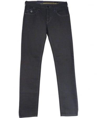 Armani Grey Extra Slim Fit Low Waist J20 Jeans