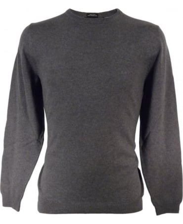 Grey 'Finello' 50302547 Crew Neck Knit