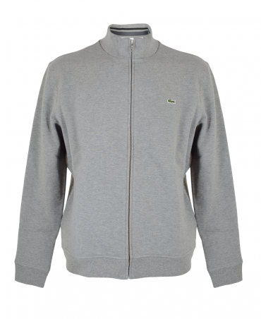 Grey Full Zip Sweatshirt