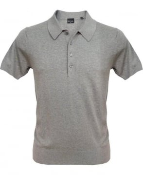 Paul Smith - PS Grey Gents Polo Shirt PKXD/28N/900