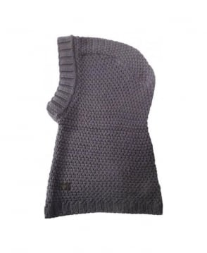 Armani Collezioni Grey Hooded Scarf Snood