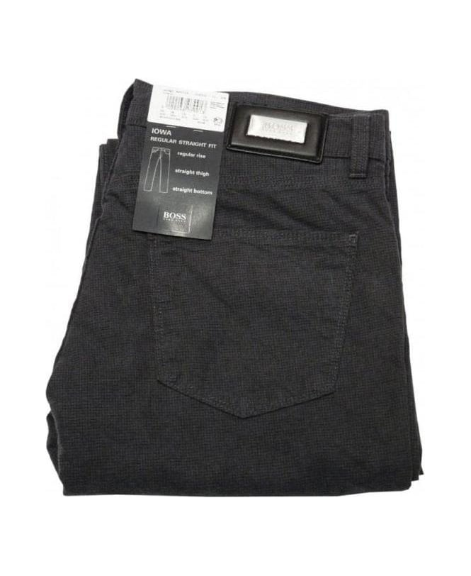 Hugo Boss Grey Iowa Regular Fit Jeans