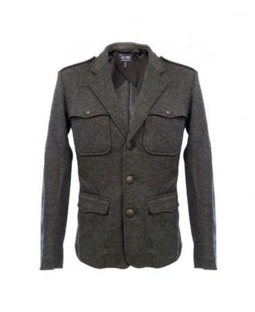 Armani Grey Jacket Style Slim Fit Overshirt