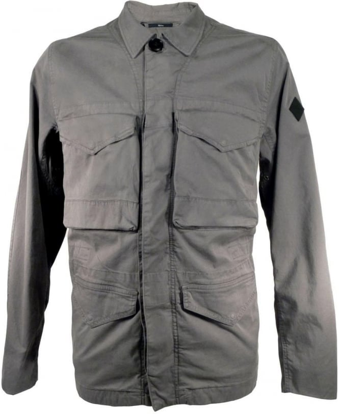 Paul Smith Grey JNFJ 245P B13 Four Pocket Field Jacket