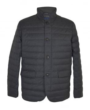 Gant Grey Lightweight Metropolis Down Jacket