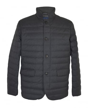 Gant Grey Lightweight Metropolis Down Jacket
