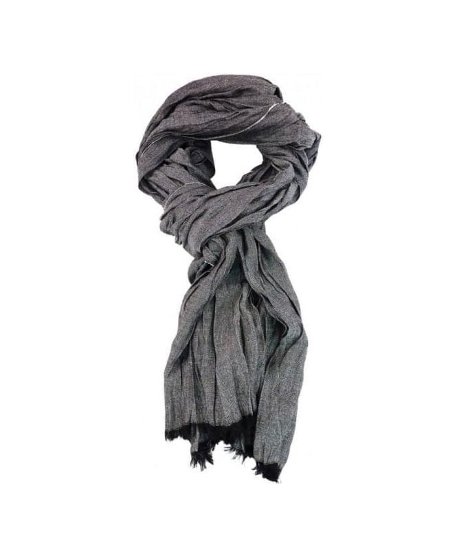Hamaki-Ho Grey Lightweight Scarf SP94H