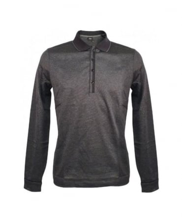 Hugo Boss Grey Long Sleeve Bugnara 34 Modern Essential