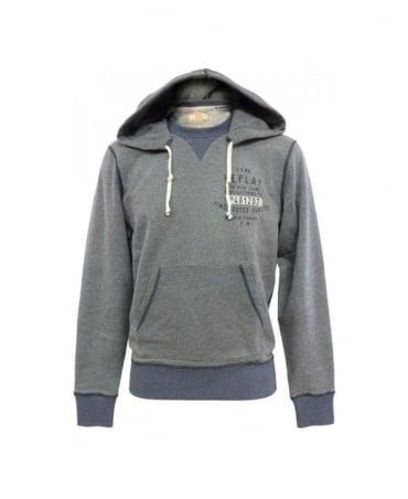 Replay Grey M6172 Grey Hoodie
