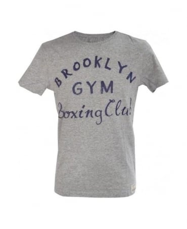 Replay Grey Marl 'Brooklyn Gym' T-Shirt