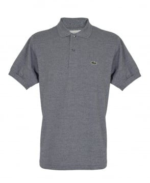Lacoste Grey Marl Classic Fit L1264 Polo
