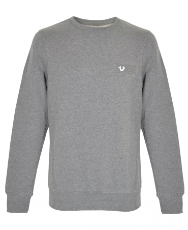 Grey Metal Horseshoe Sweatshirt