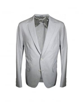 Hugo Boss Grey Micah9-w Double Vent Jacket