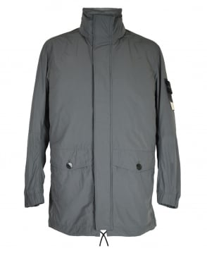 Stone Island Grey Micro Reps Primaloft Jacket