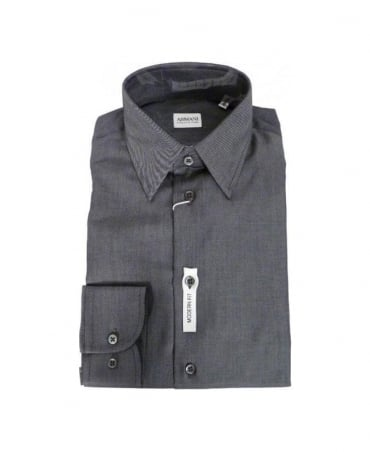 Armani Collezioni Grey Modern Fit Shirt
