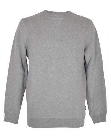 Aquascutum Grey Oliver Crew Neck Sweatshirt