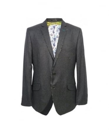 1 ...Like No Other Grey Planula Two Button Jacket