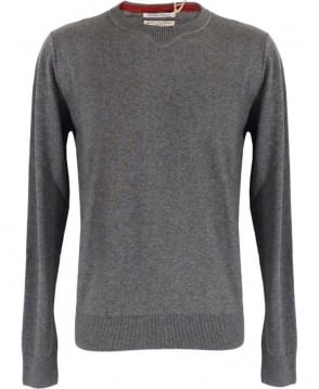 Replay Grey Round Neck Knit