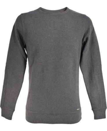 Diesel Grey S-Willard Sweatshirt