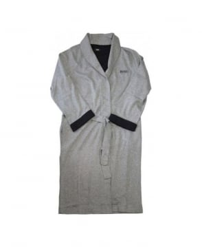 Hugo Boss Grey Shawl Collar Dressing Gown
