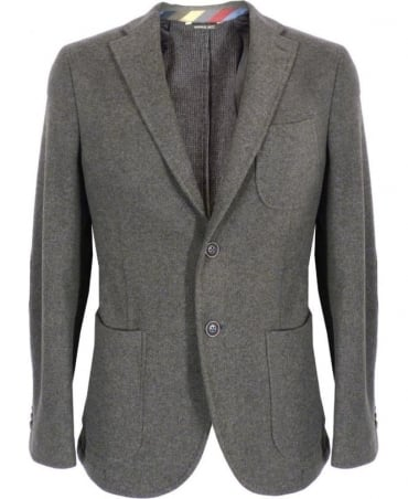 Manuel Ritz Grey Soft Fit Two Button Jacket