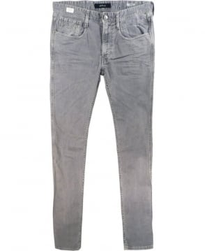 Replay Grey Stonewash Slim Fit M914 Anbass Jean