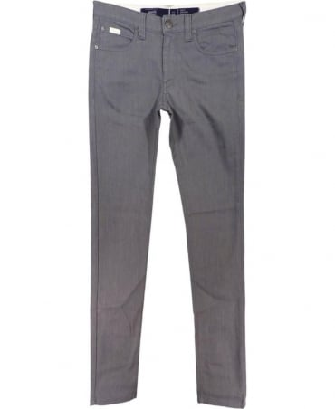 Armani Grey Stretch Slim Fit CIJ06 Jeans