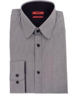 Hugo Grey Stripe Extra Slim Fit Shirt
